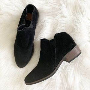 NEW DV Dolce Vita Suede Leather Ankle Booties